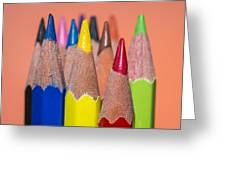 Color Pencil Greeting Card