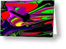 Colorful 3d Greeting Card