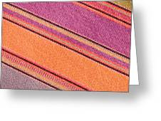 Colorful Cloth Greeting Card