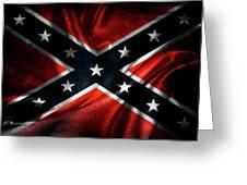 Confederate Flag 1 Greeting Card