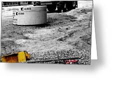 Construction Site Greeting Card by   Joe Beasley