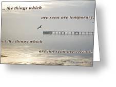 2 Corinthians 4 Verse 18 Greeting Card