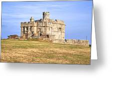 Cornwall - Pendennis Castle Greeting Card