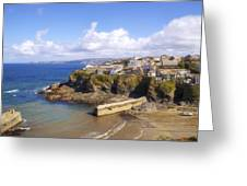 Cornwall - Port Isaac Greeting Card