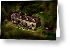 Country House In Bakewell Town Peak District - England Greeting Card