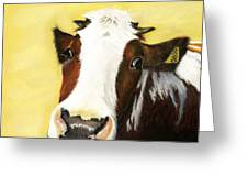 Cow No. 0650 Greeting Card