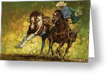 Rodeo Pickup Greeting Card
