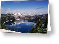Crater Lake - Oregon Greeting Card