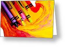 Crayon Soup Greeting Card