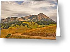 Crested Butte Autumn Greeting Card