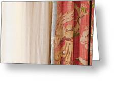 Curtains Greeting Card
