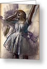 Dancer Stretching Greeting Card