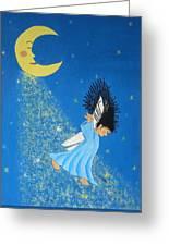 Dancing On Moonbeams Greeting Card