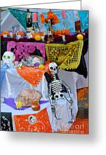 Day Of The Dead Altar, Mexico Greeting Card
