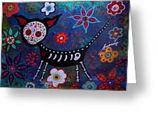 Day Of The Dead Chihuahua Greeting Card