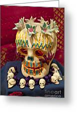 Day Of The Dead Remembrance, Mexico Greeting Card