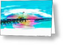 Daybreak At Pawleys Island Greeting Card