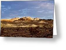 Death Valley Mountains Greeting Card