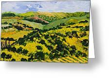 Deep Valley Greeting Card