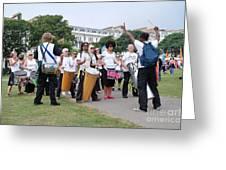 Dende Nation Samba Drum Troupe Greeting Card