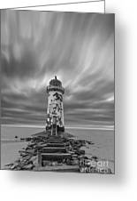 Deserted Lighthouse Greeting Card