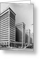 Detroit General Motors Greeting Card