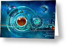 Digital Genesis Greeting Card
