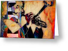 Dizzy Gillespie Collection Greeting Card