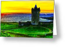 Doonagore Castle Greeting Card