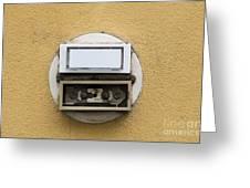 Doorbells Greeting Card