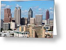 Downtown Atlanta Greeting Card