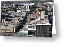 Downtown Lincoln Greeting Card