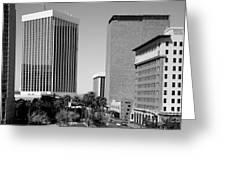Downtown Tucson Az Greeting Card