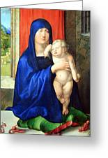 Durer's Madonna And Child Greeting Card