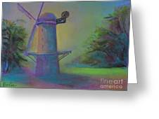 Dutch Windmill 02 Greeting Card