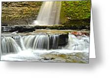 Eagle Cliff Falls Greeting Card
