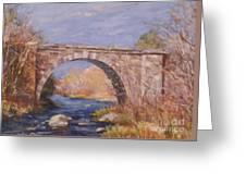 Early Spring At The Trestle Greeting Card
