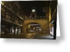 Eastgate Clock Greeting Card