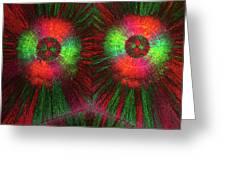 Edta Crystals Greeting Card