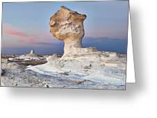 Egytians White Desert Greeting Card