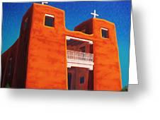 El Corazon Sagrado Greeting Card