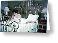 Elizabeth Taylor In Cat On A Hot Tin Roof  Greeting Card