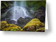 Elowah Falls Greeting Card