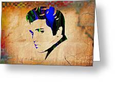 Elvis Presly Wall Art Greeting Card