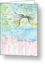 Embraced By Love Greeting Card