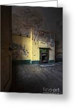 Empty Room Greeting Card