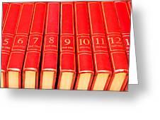 Encyclopedia Greeting Card