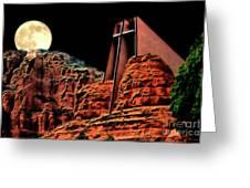 Evening Worship Greeting Card