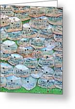 Extinction Wall Greeting Card