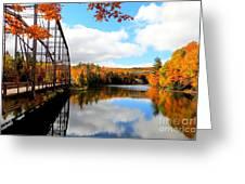 Autumn In Upper Michigan Greeting Card